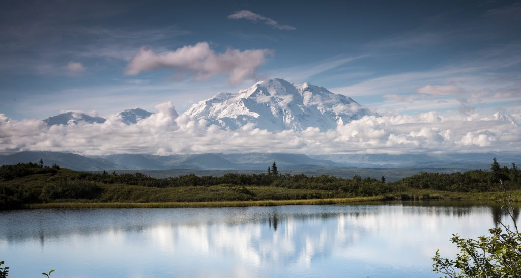 Denali reflects in Wonder Lake, a hidden Alaska that most people never see