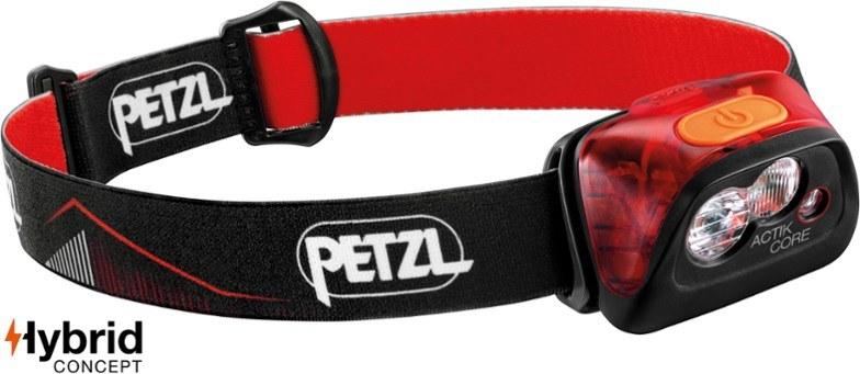 Petzel Actik Core headlamp.