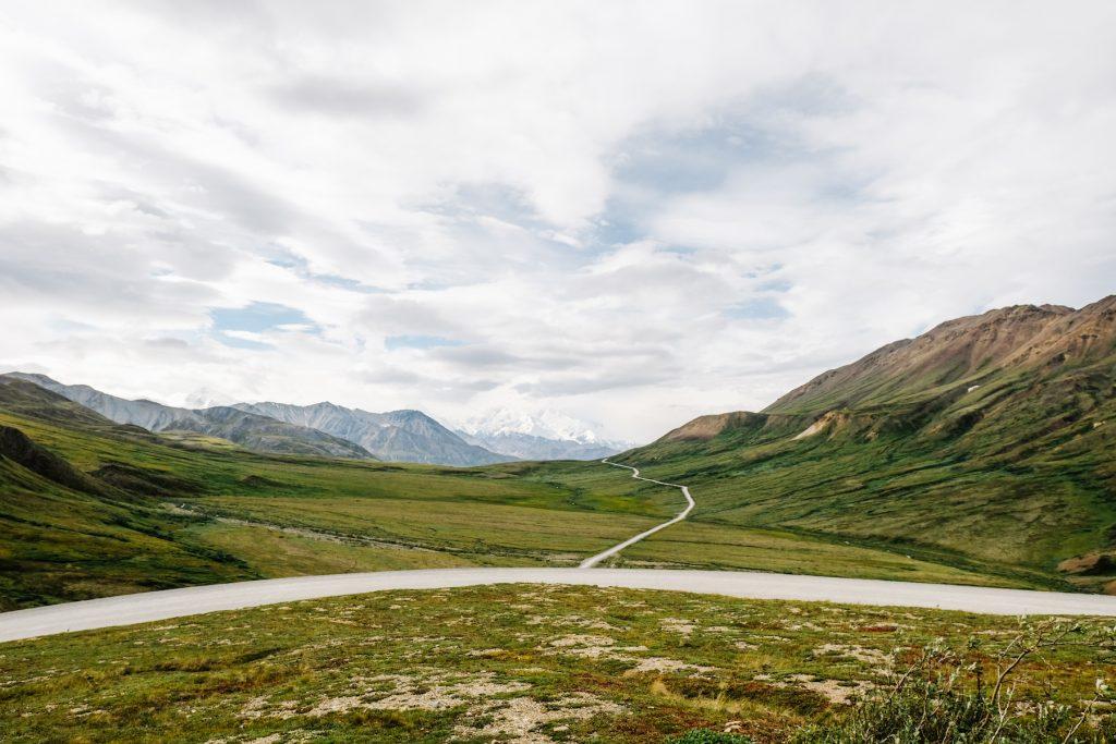 Roads in Denali National Park
