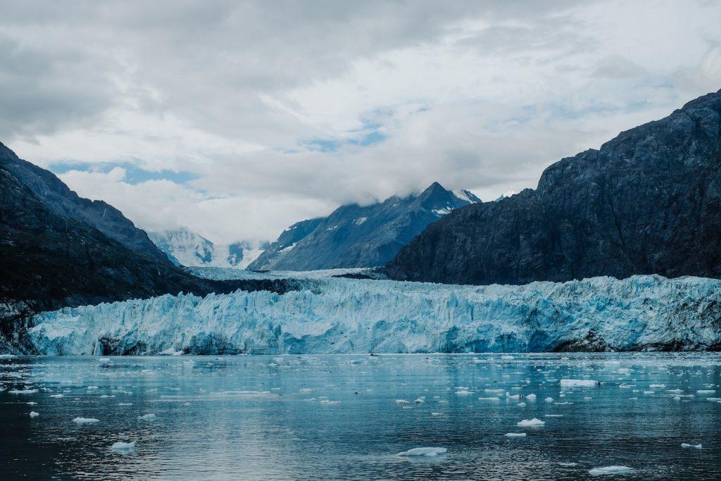 Glacier in Glacier Bay National Park