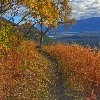 Lazy Mountain in Autumn