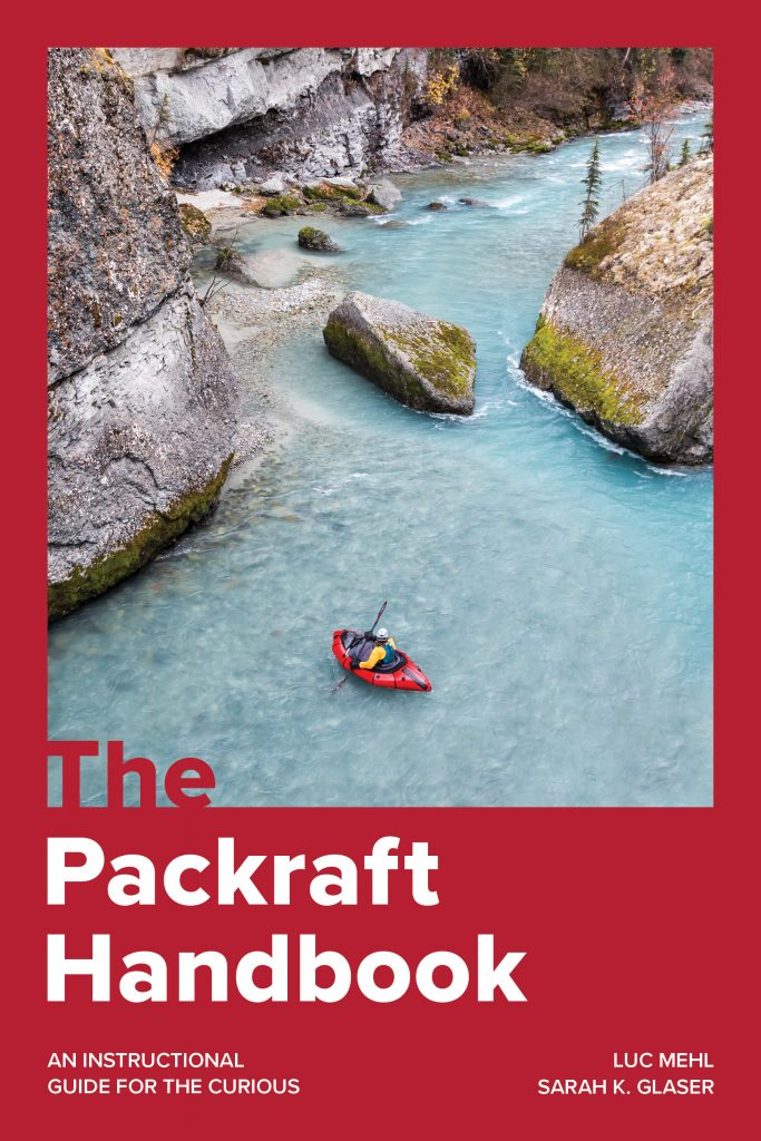 The cover for Packraft Handbook, a packrafting guide