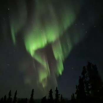 Northern lights over Chena
